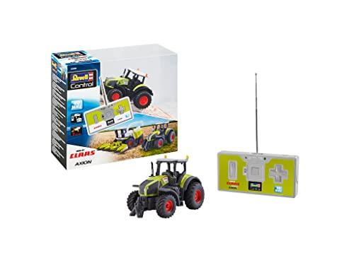 Revell Control 23488 Mini RC Traktor Claas Axion 960, mit Akku und 40 MHz Fernbedienung und Ladefunktion...