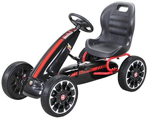 Actionbikes Motors Miweba Gokart Abarth Lizenziert Kinder Pedal Auto Tretauto Kinderfahrzeug Cart Eva Reifen...
