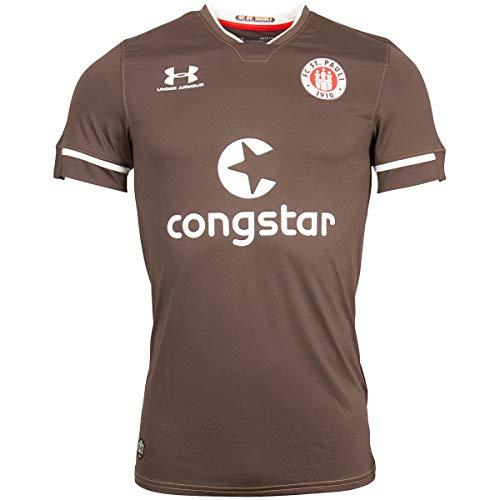 FC St. Pauli Heimtrikot 2020-21 braun (S)