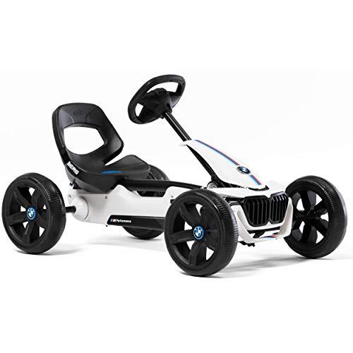 Berg Pedal Gokart Reppy BMW | Kinderfahrzeug, Tretauto mit Optimale Sicherheid, Soundbox im Lenkrad,...