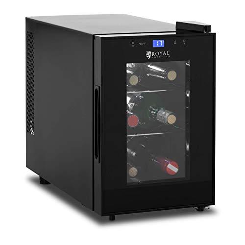 Royal Catering RCWI-20L Weinkühlschrank Getränkekühlschrank Flaschenkühlschrank klein 8-18 °C 13 L