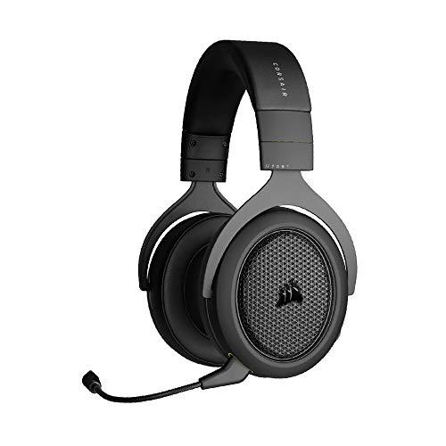 Corsair HS70 BLUETOOTH Multi-Plattform Gaming-Headset (Gaming-und Chat-Audio Gleichzeitig, Umfangreiche...