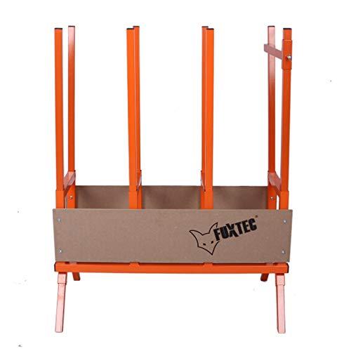 FUXTEC Sägebock FX-SH2.0 aus Metall für Kettensägen für Brennholz - Kaminholz, mit verstellbaren Füßen,...
