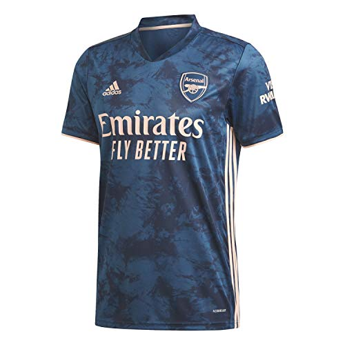adidas Herren Trikot Arsenal FC 3RD Jersey 2020/21, Legend Marine/Light Flash Orange, L, GH6653