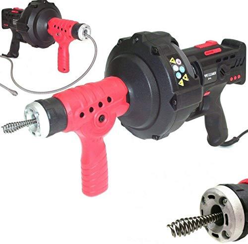 Rohrreinigungsgerät 300W Abflussreiniger 55931 Spirale 7mm x 7,6m Rohrreiniger Abfluss Rohrreinigungsmaschine...