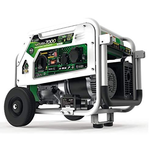 Stromerzeuger Gas Pro Natura 7000 Hybrid Dual Fuel Stromgenerator, Gas und Benzin Stromerzeuger - 7000W 230V...