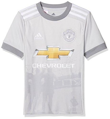 adidas Kinder Trikot Manchester United 3rd, hellgrau/weiß, S, AZ7562