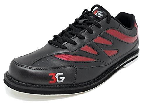 Bowling-Schuhe, 3G Cruze, Damen und Herren, für Rechts- und Linkshänder, 2 Farben, Schuhgröße 36-46 (44,5,...