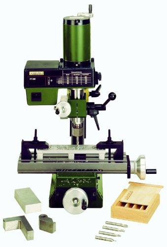 Proxxon Feinfräse FF 230 (Bohrkopf 360° schwenkbar, mit Bohrtiefenanzeige, PM-Motor, Kreuztisch aus Stahl,...