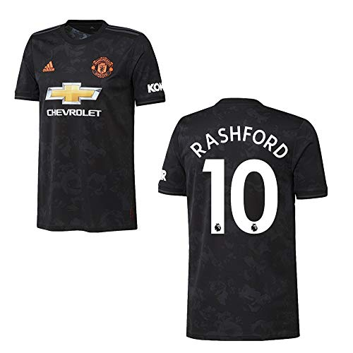 adidas Manchester United Trikot 3rd Kinder 2020 - RASHFORD 10, Größe:140