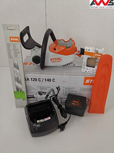 STIHL Motorsäge MSA 140 C SET inkl. Akku AK30 & Ladegerät AL101 (12540115850)