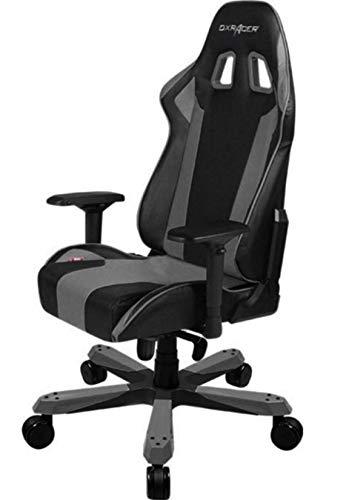 DXRacer Gaming Stuhl, OH/KS06/NG, K-Serie, schwarz-grau