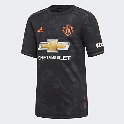 adidas Kinder Trikot Manchester United Third Jersey, Jungen, schwarz, X-Large