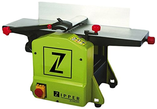 Zipper ZI-HB204 Abricht-Dickenhobelmaschine, grün, 830x465x445