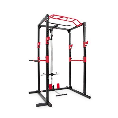 Ultrasport Power Rack / Fitness Rack, multifunktionales Rack für effektives Ganzkörpertraining, massive...