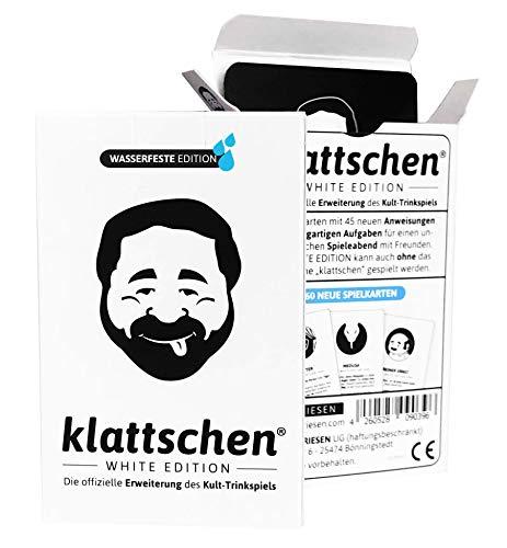 DENKRIESEN - klattschen® - White Edition - Die offizielle Erweiterung des Kult-Trinkspiels,...