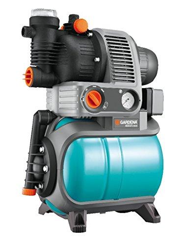 Gardena Hauswasserwerk Comfort 4000/5 eco: Hauswasserpumpe mit Trockenlaufsicherung, Rückschlagventil, 3...