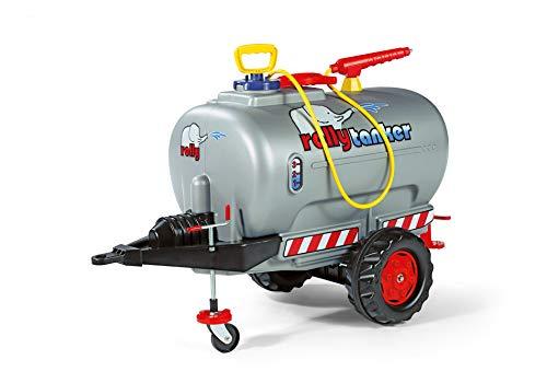 Rolly Toys rollyTanker Fass-Anhänger mit Pumpe und Spritze (für Kinder von 3 - 10 Jahre, mit Stützrad, max....