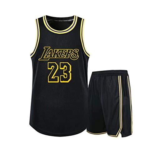 Verwendet für Nr. 23 Lebron James Fans Los Angeles Lakers Jungen Mädchen Basketball Trikotsets...