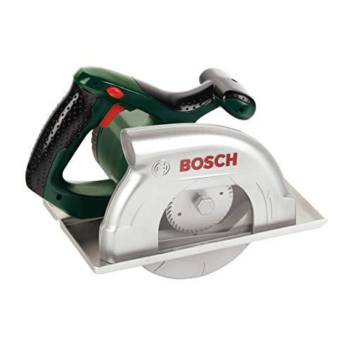 Theo Klein 8421 Bosch Kreissäge I Batteriebetrieben mit Kreissägebewegungen, Licht-und Soundfunktion I...