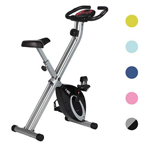 Ultrasport Heimtrainer F-Bike Advanced, LCD-Display, klappbarer Hometrainer, verstellbare Widerstandsstufen,...