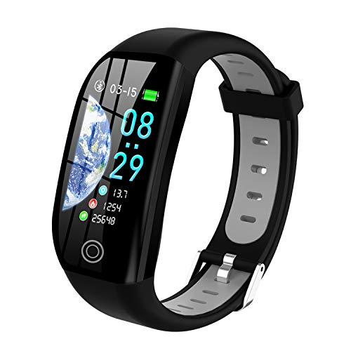 Tipmant Fitness Armband mit Pulsmesser Blutdruckmessung Smartwatch Fitness Tracker Wasserdicht IP68 Fitness...
