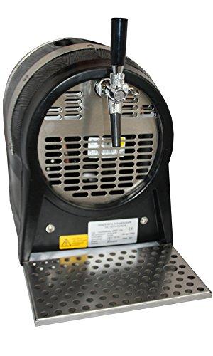 Gastrobedarf Westerbarkey Zapfanlage in Bierfassform 1ltg 60l/h mit Kompensatorschankhahn & Tropfblech