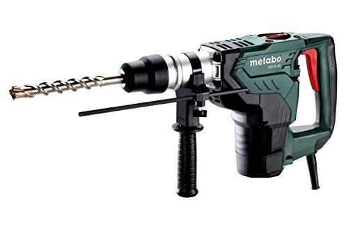 Metabo Kombihammer KH 5-40 (Hammerbohren + Meißeln, Zusatzhandgriff, 1100 W, Werkzeugaufnahme SDS-max,...