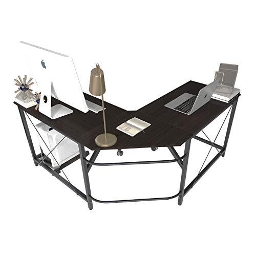 soges Eckschreibtisch Computertisch Gaming Tisch Mit L-Form Winkelschreibtisch großer Gaming Schreibtisch...