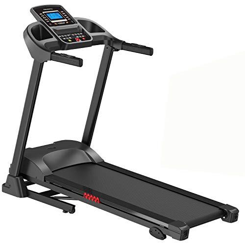 AsVIVA Laufband Cardio T16 Heimtrainer, Bluetooth, 15% Steigung, 16km/h Geschwindigkeit, energieeffizienter...