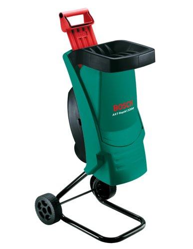 Bosch Häcksler AXT Rapid 2200 (2200 Watt, Materialdurchsatz 90 kg/h, max. Schneidekapazität-Ø 40 mm, im...