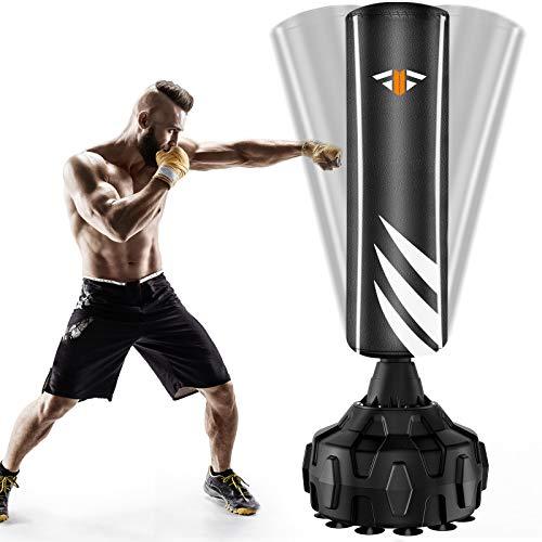 Boxsack Stehend Standboxsäcke, Erwachsene Freistehender Standboxsack, MMA Boxpartner Boxing Trainer...
