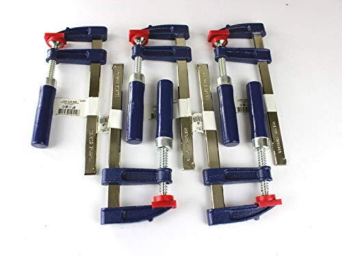 5 x Schraubzwinge Set 150x50 Zwinge Leimzwinge Klemmzwinge Einhandzwinge