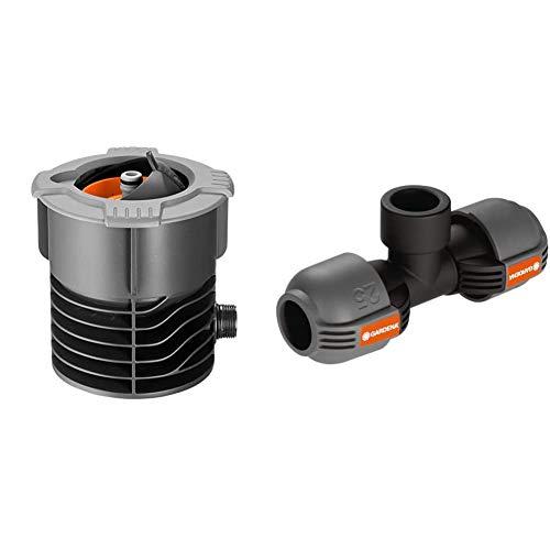 Gardena Pipeline Wassersteckdose: Oberirdische Wasserentnahmestelle,¾ Zoll Außengewinde & Sprinklersystem...
