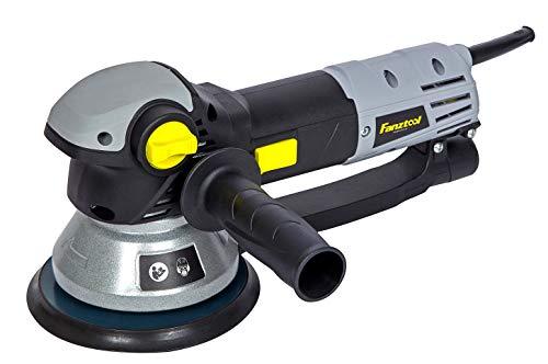 FANZTOOL 710W Poliermaschine Exzenterschleifer 150mm mit Drehzahlregelung, Rotation/Exzenter Umschaltung...