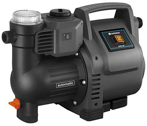 Gardena Hauswasserautomat 3500/4E: Robuste Hauswasserpumpe, vollautomatisch, mit LED-Blinklicht-Frequenz,...