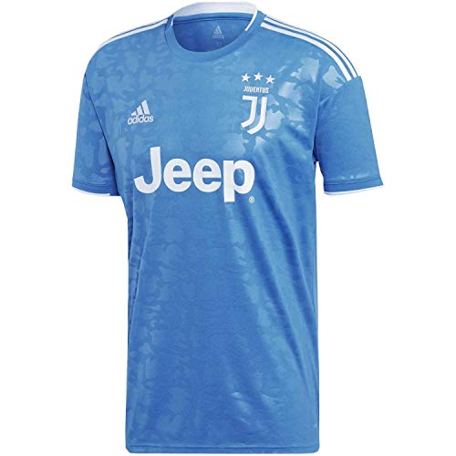 adidas Herren JUVE 3 JSY T-Shirt, Unity Blue/aero Blue s18, M