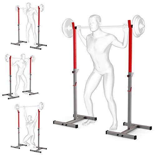 K-Sport: Langhantelablage bis 180kg I Squat-Rack für Langhanteltraining I Hantel-Ablage für Dein effektives...