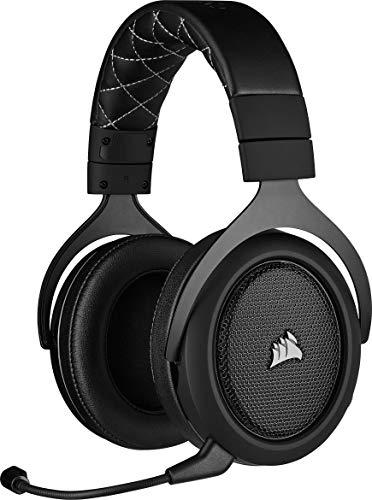 Corsair HS70 Pro Wireless Gaming Headset (7.1 Surround Sound, Ultraniedrige Latenz, 12 Meter Reichweite,...