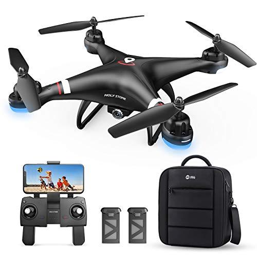 Holy Stone HS110G GPS Drohne mit 1080P Kamera HD Live Übertragung für Kinder,RC Quadcopter ferngesteuert mit...