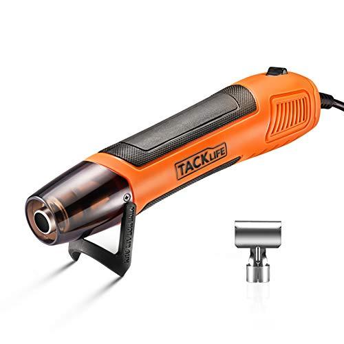 Mini Heißluftpistole, Tacklife Elektrische Heißluftfön 350W mit Reflektordüse, Temperatur 350℃ für...