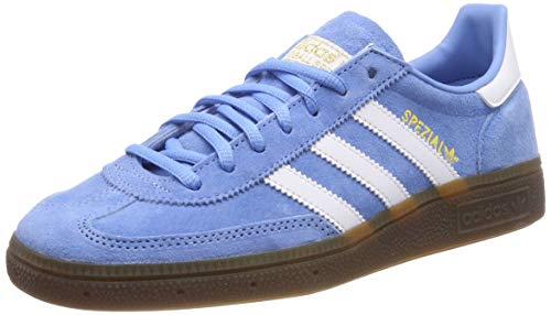 adidas Herren Handball Spezial Gymnastikschuhe Blau (Light Blue/FTWR White/Gum5), 44 EU