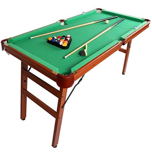 YP Klappbar Billiardtisch Pooltisch Snooker Tischspiel 140 * 74 * 80 cm