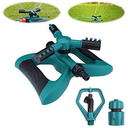 Sprinkleranlage Sprinkler Gartensprenger Rotierende Sprinkler Bewässerungssystem Kann in Reihe geschaltet...