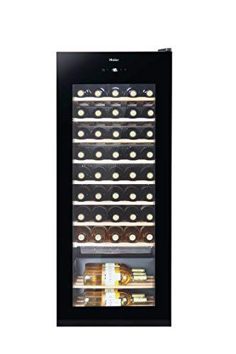 Haier WS50GA Weinkühlschrank / 50 Flaschen / 127 cm Höhe / UV-Schutz / LED-Display zur Temperatureinstellung...
