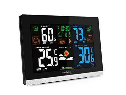 Technoline WS 6462 Funkwetterstation, Innentemperatur, Außentemperatur, Luftfeuchte, Luftdruck,...