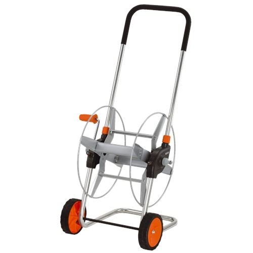 Gardena Metall-Schlauchwagen 60: Mobile Schlauchtrommel mit bis zu 60 m Schlauchkapazität bei 13 mm Schlauch,...