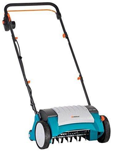 Gardena Elektro-Vertikutierer EVC 1000: Rasenlüfter mit Arbeitsbreite 30 cm, 1000 W, Rasenfläche bis 1000...