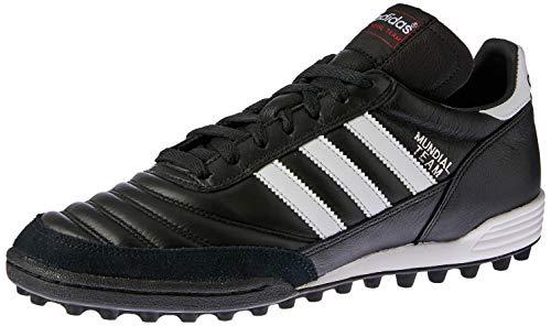 adidas Unisex-Erwachsene Mundial Team Fußballschuhe, Schwarz (Black/Running White Ftw/Red), 44 2/3 EU