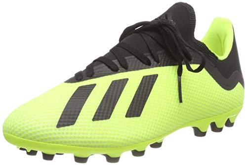 adidas Herren X 18.3 AG Fußballschuhe, Gelb Gelb Schwarz Gelb Schwarz, 40 EU
